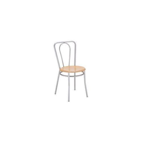 Nowy styl Krzesło kuchenne kolor buk malia alu