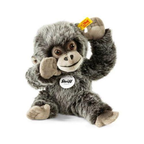 STEIFF Maskotka Gorilla Gora 25cm, kolor szary nakrapiany