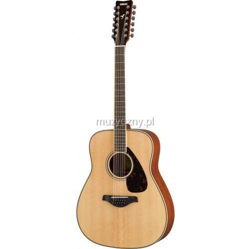 Yamaha FG 820 12 NT gitara akustyczna 12-strunowa, kolor natural
