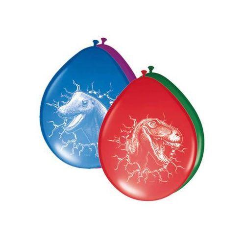 Folat Balony urodzinowe dinozaury - 30 cm - 6 szt. (8714572618557)