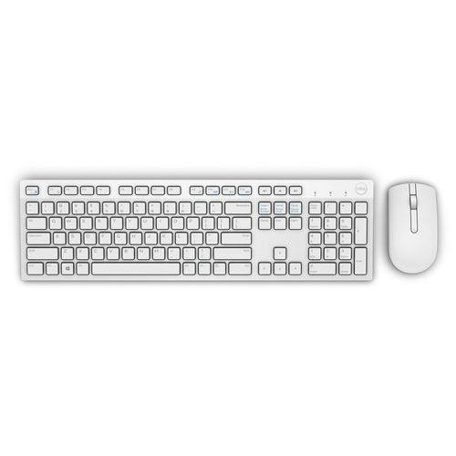 Dell bezprzewodowa klawiatura + mysz usb km636 white