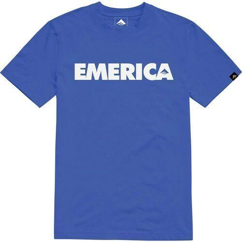 koszulka EMERICA - Youth Bold Tee Royal (430) rozmiar: L