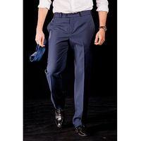 Eleganckie granatowe spodnie success marki Suitsquare