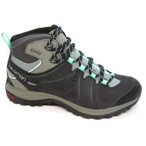 Buty trekkingowe  ellipse 2 mid ltr gtx gore-tex (381627) - czarny/zielony marki Salomon