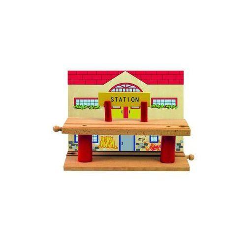 Woody drewniana wielopoziomowa stacja