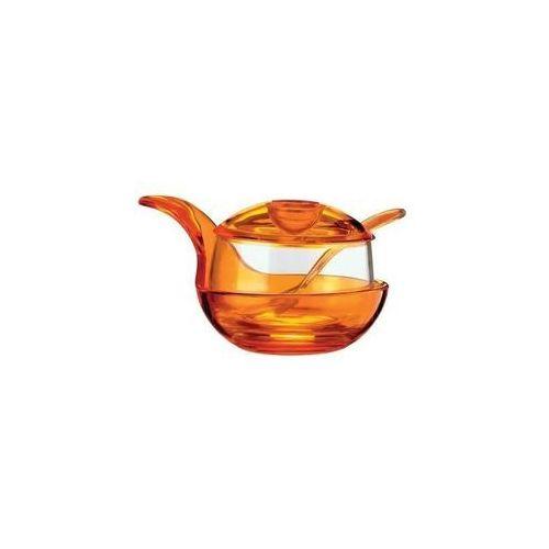 Guzzini murano cukiernica pomarańczowa 23470045 darmowa wysyłka - idź do sklepu!