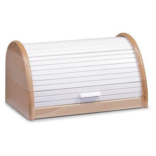 Drewniany chlebak, pojemnik na pieczywo, 39x25x21cm, ZELLER (4003368204604)