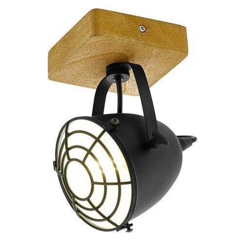 Eglo GATEBECK Lampa Sufitowa Brązowy, 1-punktowy - Vintage - Obszar wewnętrzny - GATEBECK - Czas dostawy: od 10-14 dni roboczych, 49076