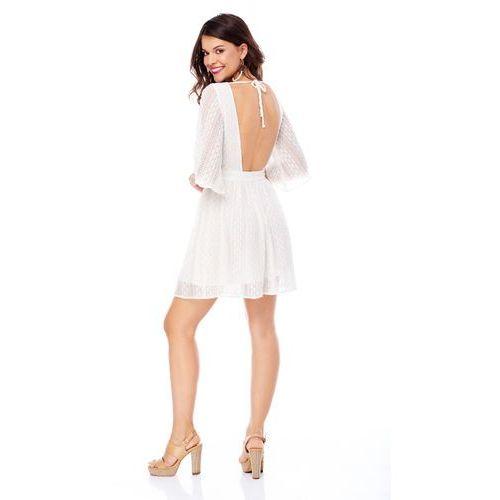 Sukienka guadelupe kremowa marki Sugarfree