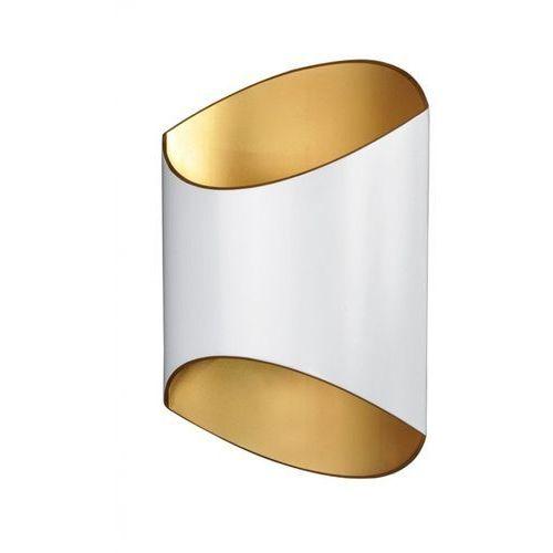 kinkiet SECTION biały/złoty Wyprzedaż producenta, ZUMA LINE 1005-W/G