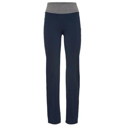 Bonprix Spodnie sportowe, długie ciemnoniebieski