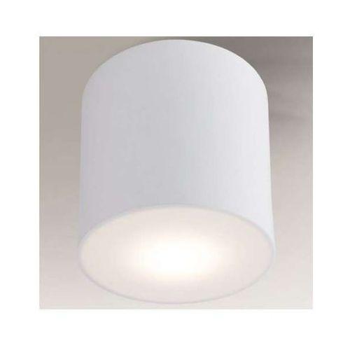 Downlight LAMPA sufitowa ZAMA 1129/GX53/BI Shilo natynkowa OPRAWA okrągła biały, kolor Biały
