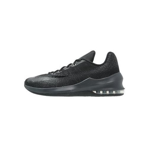 Nike Performance AIR MAX INFURIATE Obuwie do koszykówki black/anthracite/dark grey/wolf grey/metallic dark grey, kolor czarny