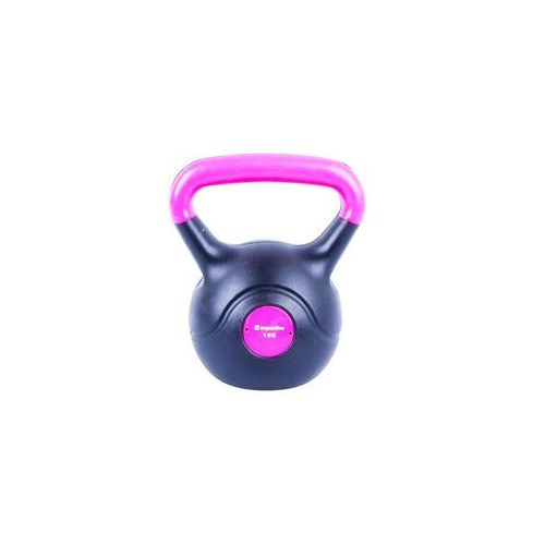 Hantla bitumiczna inSPORTline Kettlebell Dark 1 kg (8596084007308)