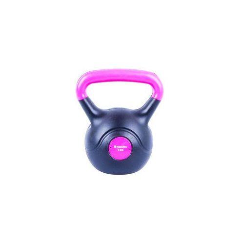 Insportline Hantla bitumiczna kettlebell dark 1 kg (8596084007308)