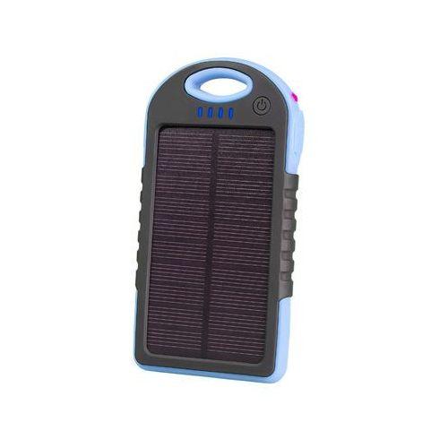 Powerbank Tracer Solar Mobile Battery 5000 mAh niebieski (TRABAT45046) Darmowy odbiór w 21 miastach!