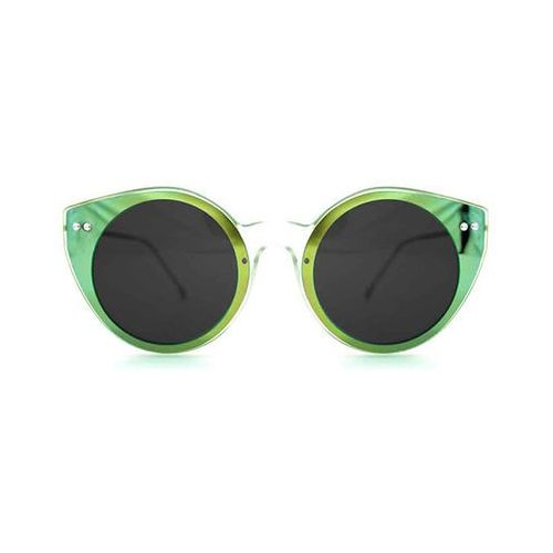 Okulary Słoneczne Spitfire Alpha Select Double Lens Clear/Green Mirror/Black