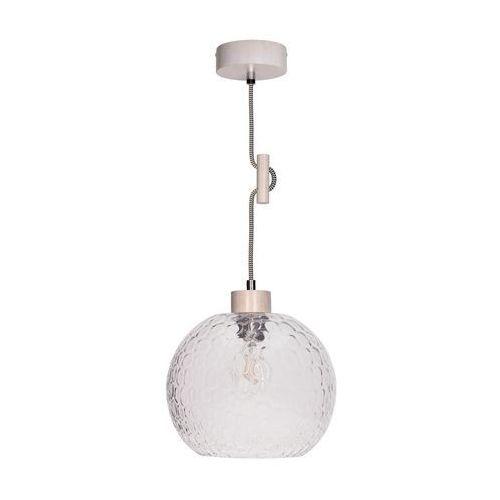 Spot-light svea lampa wisząca dąb bielony/czarno-biały 1xe27-60w 1357432 (5901602347553)
