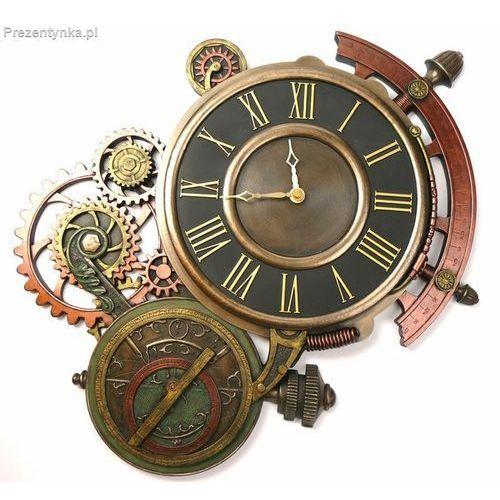 Zegar astrolabium steampunk marki Veronese