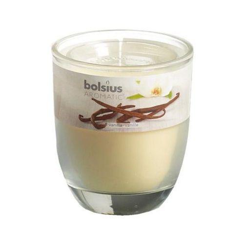 Bolsius 80/70 wanilia świeczka zapachowa w szkle