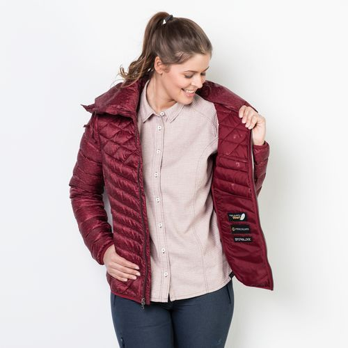 Kurtka richmond hill jacket women - dark red marki Jack wolfskin