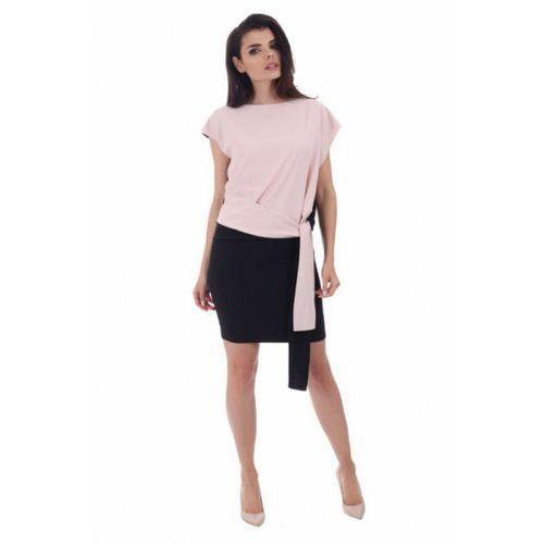Sukienka wizytowa model m 820 beige, Margo collection