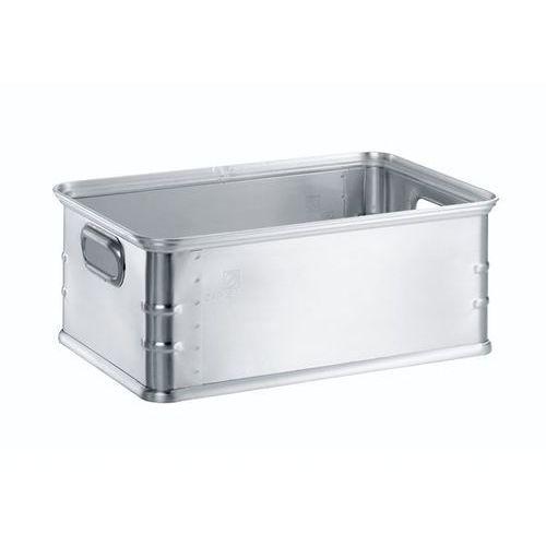 Skrzynka transportowa i skrzynka do ustawiania w stos z aluminium, poj. 37 l, na marki Zarges