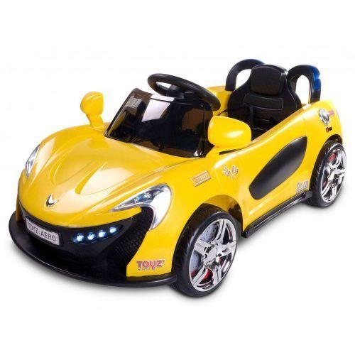 Caretero Pojazd na akumulator toyz aero żółty + darmowy transport!