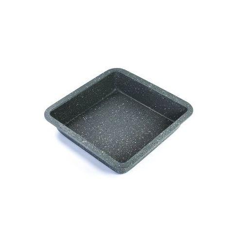 Forma do pieczenia ze stali węglowej 22 x 22 x 4 cm, szara - Duka DARMOWA DOSTAWA KIOSK RUCHU