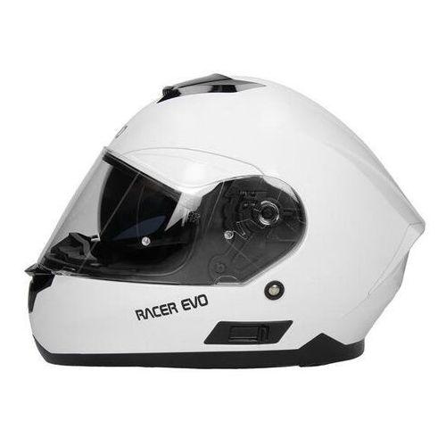 RHINO KASK INTEGRALNY RACER EVO WHITE GLOS