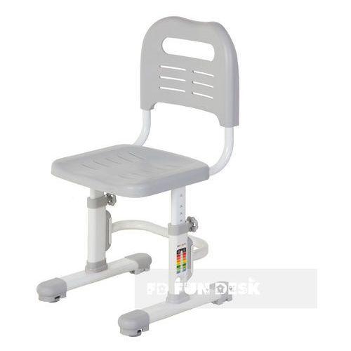 Sst3l grey - ergonomiczne krzesełko dziecięce z regulacją wysokości fun desk marki Fundesk
