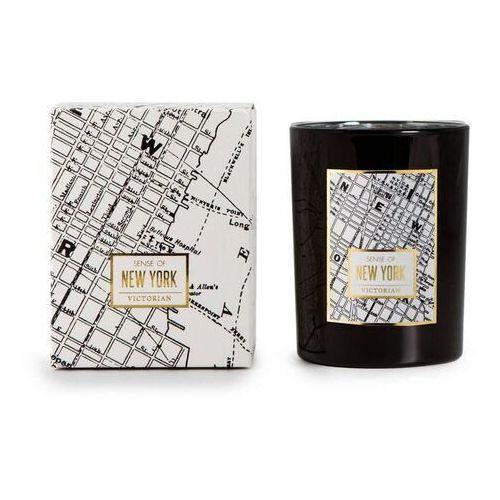 Victorian - maps - świeca zapachowa - new york: cytryna i grejpfrut