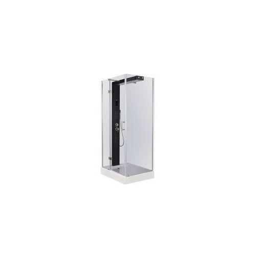 Kerra kabina prostokątna hydromasażowa sonea 100x80 + brodzik (lewa/prawa)