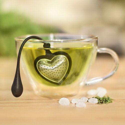 Adhoc - zaparzacz do herbaty tea heart, duży - duży