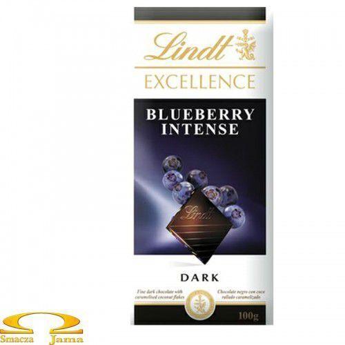 Czekolada Lindt Excellence Blueberry Intense 100g (3046920029452)