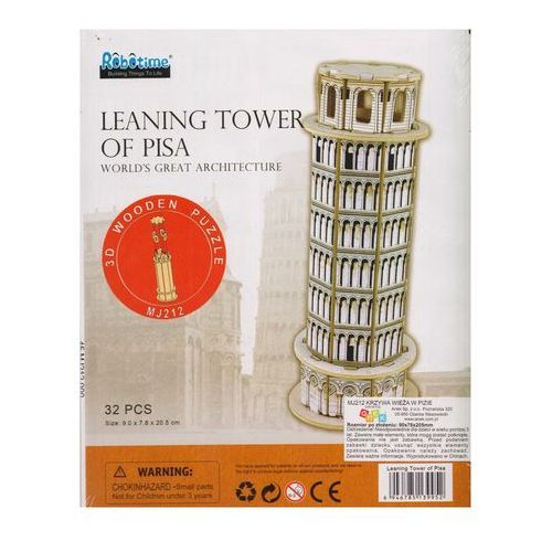 Puzzle 3D Krzywa Wieża w Pizie (6946785139952)