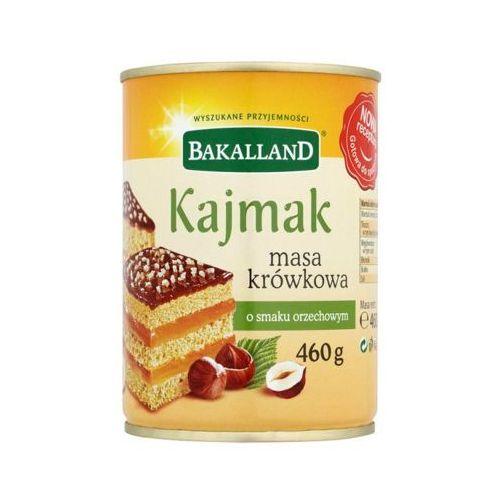 460g kajmak masa krówkowa o smaku orzechowym marki Bakalland