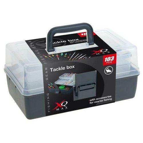 Pudełko wędkarskie z akcesoriami - 103 sztuki w komplecie