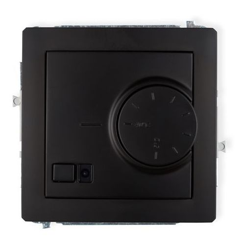 Karlik Regulator temperatury z czujnikiem powietrznym czarny mat deco 12drt-2