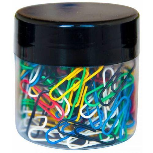Spinacze okrągłe , 26mm, 150szt., w plastikowym słoiku, mix kolorów - x07905 marki Q-connect