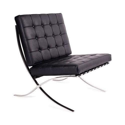 Fotel BARCELON skóra T03-1.BLACK - King Home - Sprawdź kupon rabatowy w koszyku (5900168800304)