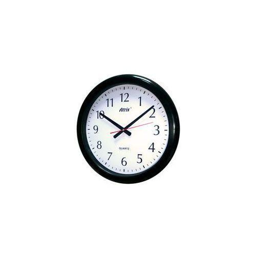 Zegar ścienny wodoszczelny czarny 40cm