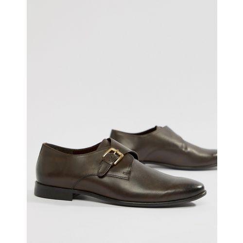 KG By Kurt Geiger Single Monk Shoes In Brown - Brown