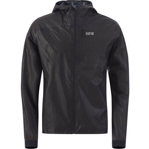 Gore wear r7 gore-tex shakedry kurtka do biegania czarny l 2018 kurtki do biegania