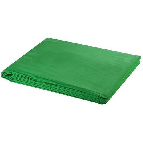 tło fotograficzne, bawełniane, zielone, 5x3m marki Vidaxl