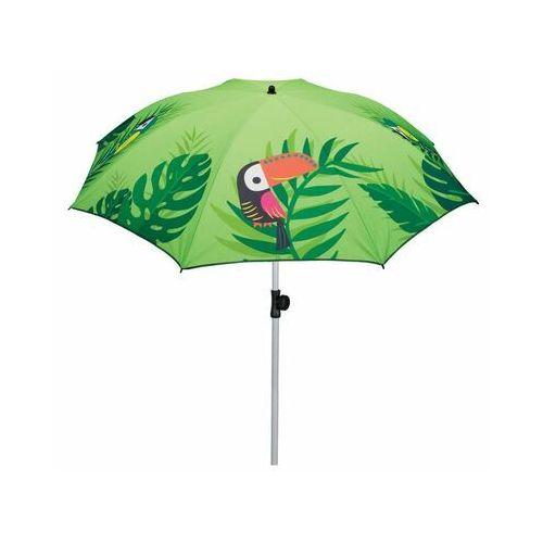 Parasol przeciwsłoneczny 200 cm PAPUGA zielony okrągły (5900410433861)