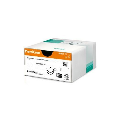 Szwy chirurgiczne PremiCron® 2/0 75CM HR26 - niewchłanialne - 36 szt., C0026016