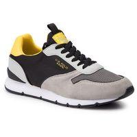 Sneakersy U.S. POLO ASSN. - Bolt MAXIL4058S9/TS1 Blk/Yel, kolor szary