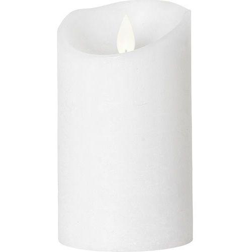 Broste copenhagen Świeca led biała 13 cm