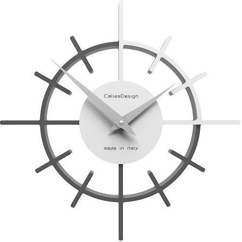 Zegar ścienny crosshair czarny / biały marki Calleadesign